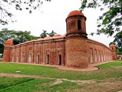 Sixty Dome Mosque, Bagarhat, Bangladesh