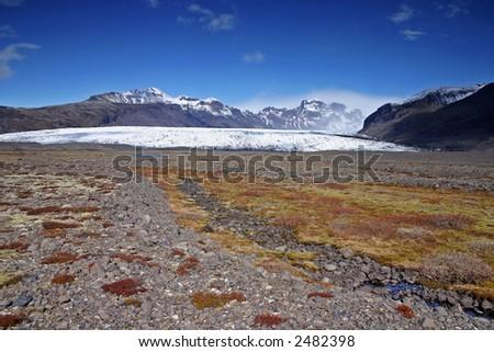 Skaftafellsjokull, Skaftafell National Park, South Iceland