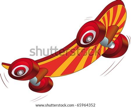skate board - stock photo