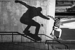 skate, shadow, skateboarding, sport, urban