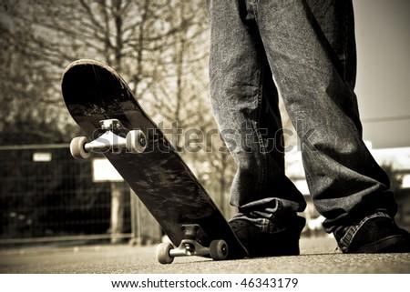 skater legs