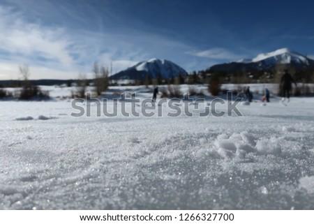 Skating in Dillon, CO
