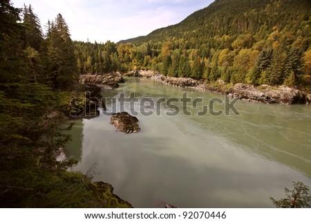 Skeena River in British Columbia