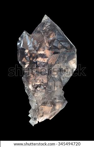 Skeletal smokey quartz crystal from Fedenstock, Fellital, Uri, Switzerland.  #345494720