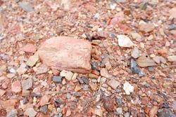 Skeletal soils or gravel backgrounds