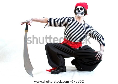 Skeleton Pirate Costume
