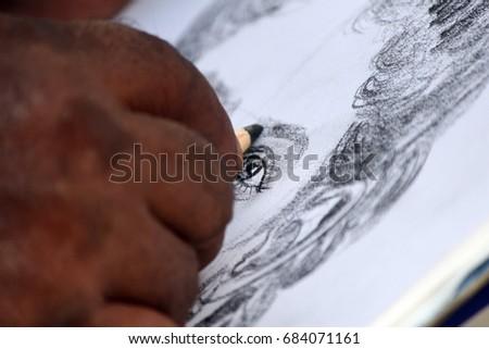 Sketch artist #684071161