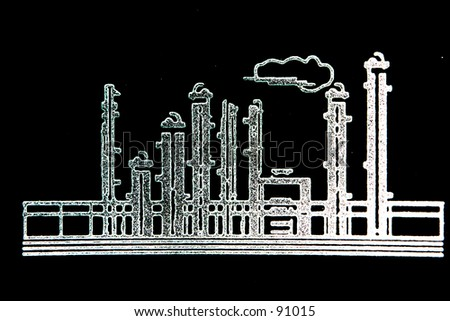 Sketch of a Refinery