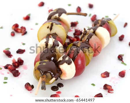 skewer of fruits