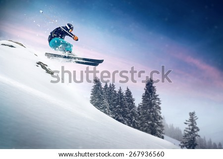 Ski Jump #267936560