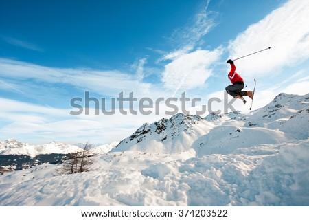 Ski jump #374203522