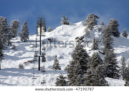 Ski lift, Bogus Basin Resort