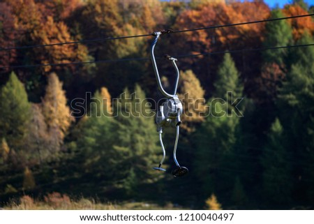 Ski lifts and lifts, Ski lifts abandoned and destroyed