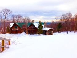 Ski Lodge at Okemo Mountain Vermont