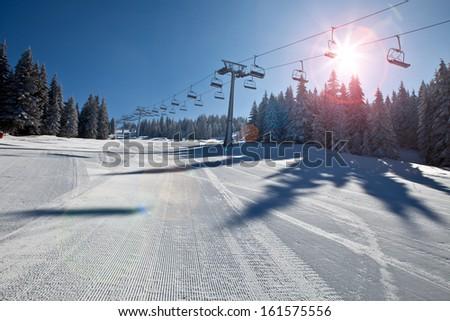 ski resort Stock photo ©