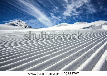 ski resort kaprun