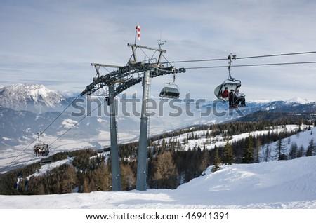 Ski resort  Schladming . Austria #46941391