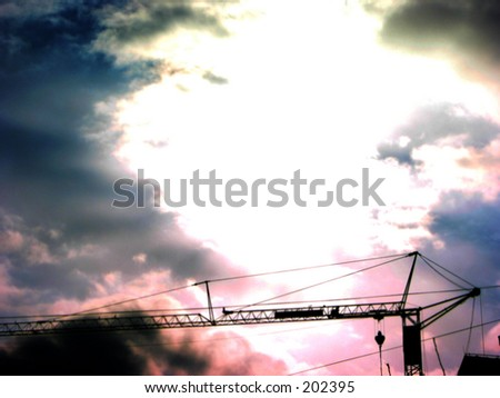 skies - stock photo
