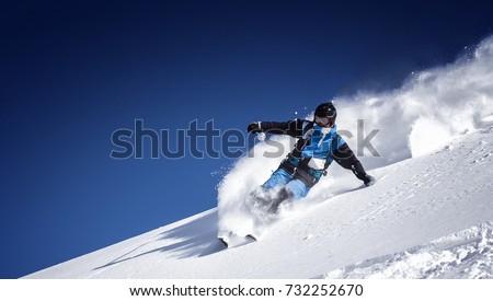 skiing #732252670