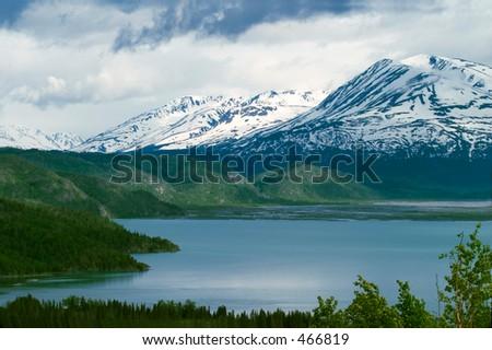 Skilak Lake, Kenai Peninsula, Alaska.