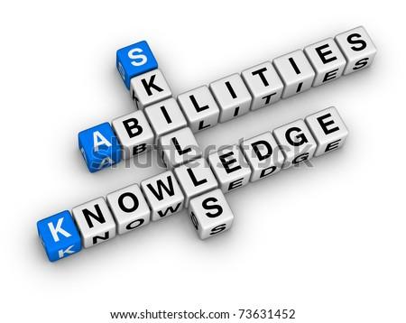 Skills, Knowledge, Abilities