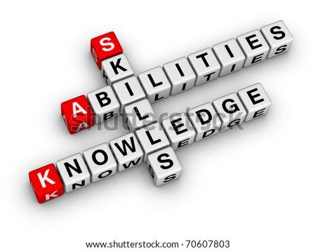 Skills, Knowledge, Abilities (crossword series)