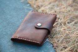 skin handmade tools leather wallets