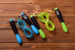 skipping ropes with digital counters