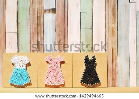 Skirt and dress and dress #1429494665