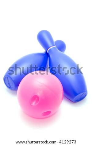 skittles and ball