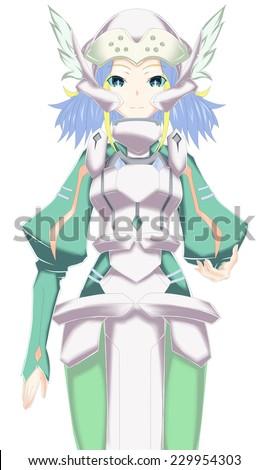 Stock Photo Skuld - Sword art online II