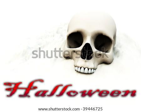 skull for Halloween.