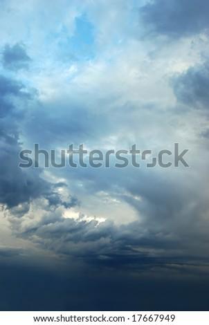Sky after a storm