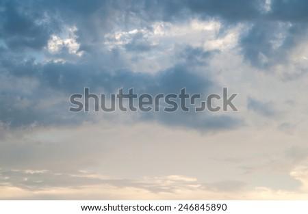 sky after rainng
