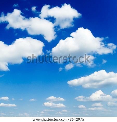 sky and clouds - Shutterstock ID 8542975