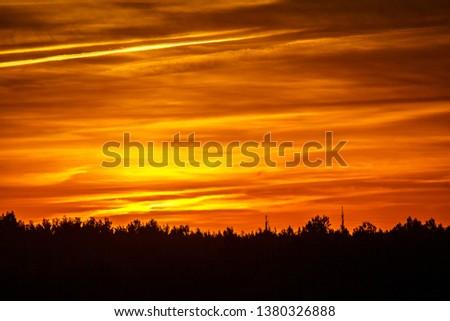 sky at sunset #1380326888