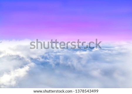 Sky atmosphere Of the stratosphere #1378543499