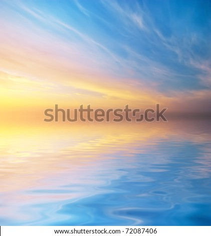 Sky background. Nature composition.