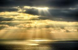 Sky background on sunrise nature composition. HDR image