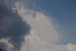 sky before raining