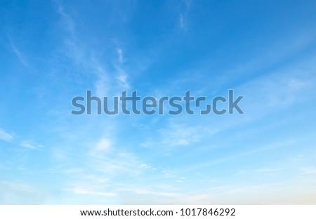sky blue  background - Shutterstock ID 1017846292
