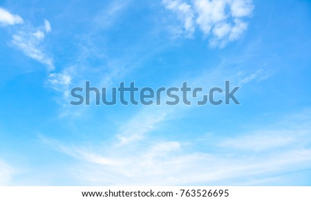 sky blue or azure sky and...
