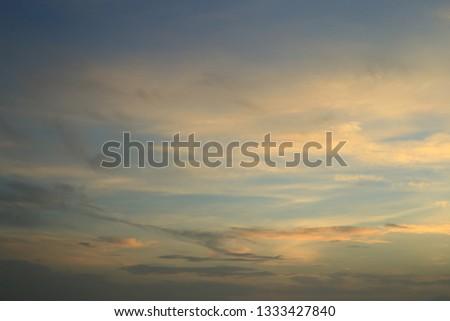 sky - blue sky orange sky sunrise sky