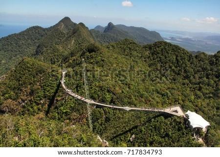 Sky Bridge Langkawi #717834793