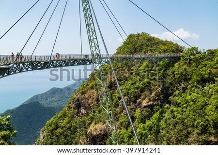 Sky bridge, Langkawi, Malaysia #397914241