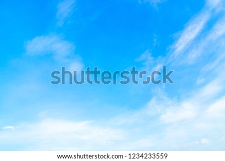 Sky cloud for panorama for backdrop, mobile website, print media. #1234233559
