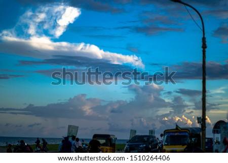 sky cloud pics from chennai