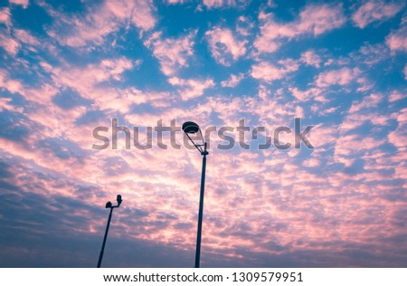 sky cloud sunrise #1309579951