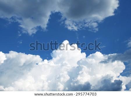 Sky clouds - Shutterstock ID 295774703