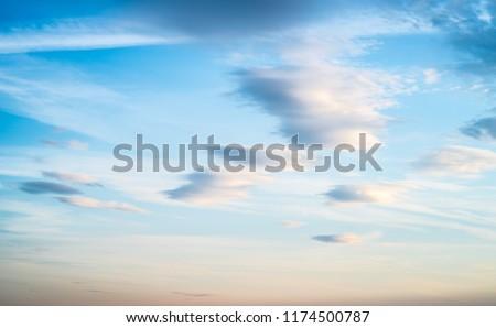 Sky clouds art sunrise background. Summer wallpaper #1174500787
